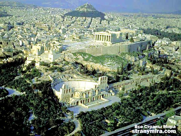 Афинский Акрополь и храм Парфенон | Греческий