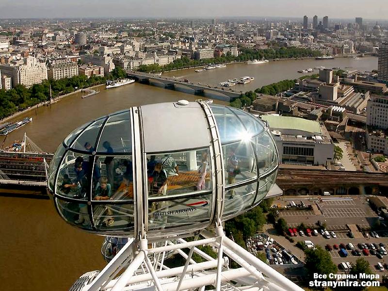 Колесо обозрения в лондоне фото
