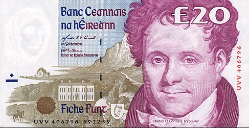 Ирландский фунт марки польша цена